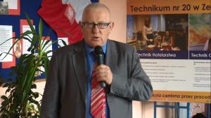 Marek Traczyk Konferencja prasowa III FESTIWALU CHLEBÓW ŚWIATA fot. ŚWIECZAK