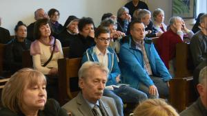 6 rocznica katastrofy w Smoleńsku - msza za śp.Pawła Wypycha fot. ŚWIECZAK