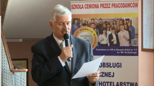 Ryszard Marcińczak Prezes Warszawskiej Izby Gospodarczej Konferencja prasowa III FESTIWALU CHLEBÓW ŚWIATA fot. ŚWIECZAK