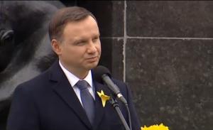 73. rocznica wybuchu powstania w getcie warszawskim fot. ŚWIECZAK