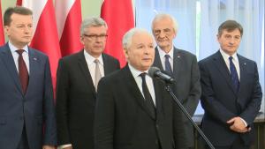 Kaczyński: Zawiązał się Komitet Budowy Pomników ofiar katastrofy smoleńskiej i Lecha Kaczyńskiego fot. ŚWIECZAK