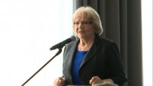 Janina Sagatowska, Konferencja pt: Obchody milenium na uchodźstwie – w pięćdziesiątą rocznicę fot.ŚWIECZAK