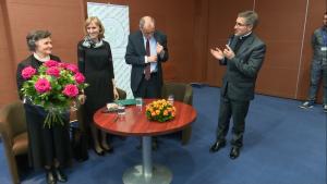 """""""Co się w życiu opłaca"""" - spotkanie z Rodzicami Prezydenta RP fot.ŚWIECZAK"""