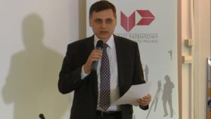 """Konferencja prasowa pt. """"Zwiększenie potencjału krajowych produktów i marek - szybka, prosta i tania rejestracja wzorów przemysłowych i znaków towarowych w Polsce"""" fot. ŚWIECZAK"""