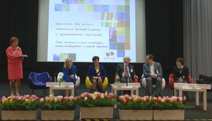 Konferencja Urzędu Patentowego RP – Wyzwania dla prawa własności intelektualnej w gospodarce cyfrowej fot. ŚWIECZAK