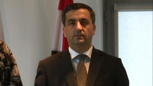 Idris Mayya,Charge d`Affaires, Ambasador Syrii 70 rocznica odzyskania niepodległości przez Arabską Republikę Syryjską fot. ŚWIECZAK