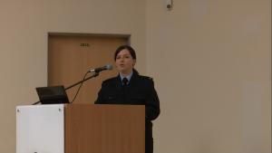 Justyna Skwarska Dzień Otwarty w Szkole Głównej Służby Pożarniczej w Warszawie fot. ŚWIECZAK