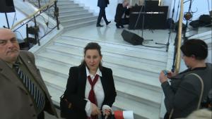 """Koncert zespołu """"Mazowsze"""" w Sejmie z okazji Święta flagi fot. ŚWIECZAK"""