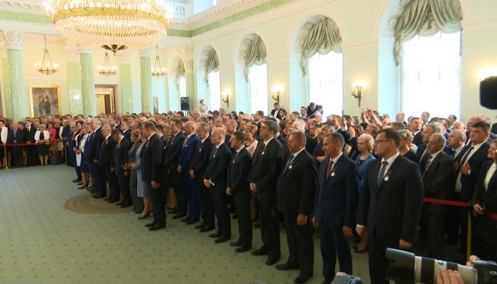 Dzień Samorządu Terytorialnego w Pałacu Prezydenckim fot. ŚWIECZAK