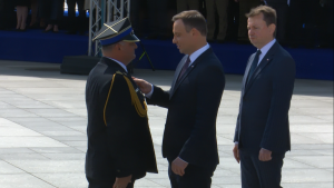 Obchody Dnia Strażaka 2016 oraz promocja oficerów Państwowej Straży Pożarnej w Warszawie fot. ŚWIECZAK