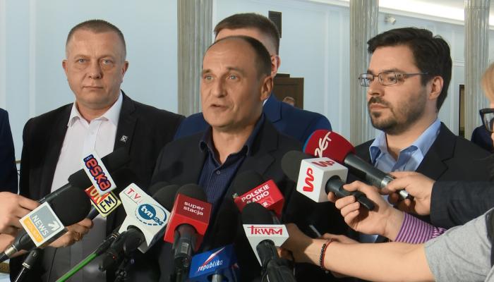 Kukiz nie pojawi się na spotkaniu z marszałkiem Kuchcińskim fot. ŚWIECZAK
