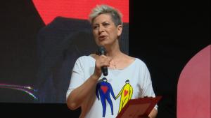 Dorota Warakomska, VIII Kongres Kobiet fot. ŚWIECZAK