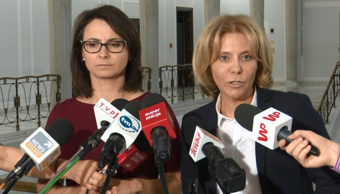 Stanowisko Nowoczesnej podsumowujące spotkanie w marszałka Sejmu fot. ŚWIECZAK