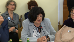 Ewa Mańkiewicz-Cudny Prezes FSNT NOT XVII Konferencja Okrągłego Stołu fot. ŚWIECZAK