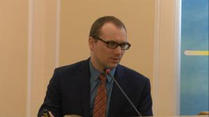 Dr Marcin Zarzecki XVII Konferencja Okrągłego Stołu fot. ŚWIECZAK