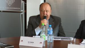 """Jan Koblak, Prezes Horus - Energia Seminarium Promocyjno-Gospodarcze: """"Mongolia – czy tu można zrobić biznes. fot. ŚWIECZAK"""