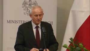 """Krzysztof Tchórzewski Minister Energii Konferencja """"Okrągły stół energetyczny"""" fot. ŚWIECZAK"""