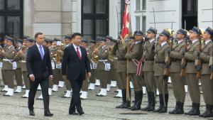 Oficjalne powitanie Przewodniczącego Chińskiej Republiki Ludowej Xi Jinpinga z Małżonką fot. ŚWIECZAK