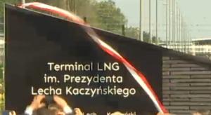 Uroczystości nadania Terminalowi LNG w Świnoujściu imienia Prezydenta Lecha Kaczyńskiego fot. ŚWIECZAK