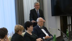Spotkanie przedstawicieli Polonii Medycznej z Marszałkiem Senatu Stanisławem Karczewskim fot. ŚWIECZAK
