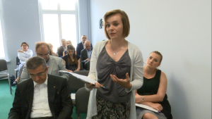 """Konferencja pt.:""""Przyszłość polskiej nauki - potencjał i bariery współpracy biznesu z nauką"""" fot. ŚWIECZAK"""