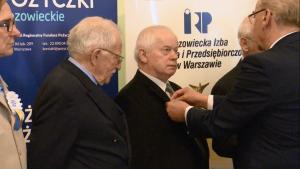 """""""Święto Mistrza"""" oraz """"500-lecia Cechu Złotników, Zegarmistrzów, Optyków, Grawerów i Brązowników m.st. Warszawy"""" fot. ŚWIECZAK"""