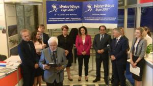III Międzynarodowe Targi Żeglugi Śródlądowej i Gospodarki Wodnej Waterways EXPO 2016 fot. ŚWIECZAK