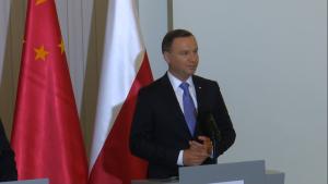 Andrzej Duda Prezydent RP Ceremonia podpisania dokumentów z udziałem prezydentów Polski i Chin fot. ŚWIECZAK