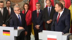 Uroczysta inauguracja polsko-niemieckiej grupy refleksyjnej z udziałem Prezydenta RP i Prezydenta RFN fot. ŚWIECZAK