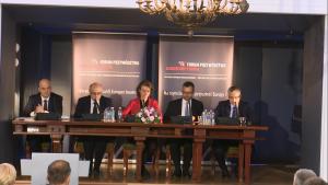 """Inauguracja serii konferencji prezydenckich """"Forum Przywództwa"""" na temat """"Na czym budować przyszłość Europy?"""" fot. ŚWIECZAK"""
