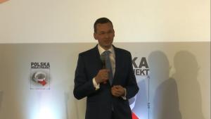 """Mateusz Morawiecki, Wiceprezes Rady Ministrów, Minister Rozwoju Kongres """"Polska Wielki Projekt"""" fot. ŚWIECZAK"""