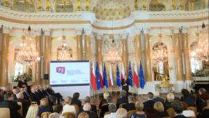 """""""25-lecie Demokratycznego Prawa Wyborczego i Organów Wyborczych w Polsce"""" fot. ŚWIECZAK"""
