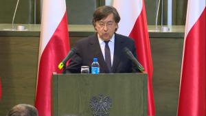 prof. Marek Zirk-Sadowski, Prezes Naczelnego Sądu Administracyjnego Zgromadzenie Ogólne Sędziów Sądu Najwyższego fot. ŚWIECZAK