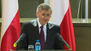 Łukasz Piebiak, Podsekretarz Stanu w Ministerstwie Sprawiedliwości Zgromadzenie Ogólne Sędziów Sądu Najwyższego fot. ŚWIECZAK