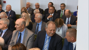 """Debata pt.""""Sytuacja sądownictwa w Polsce i Europie"""" fot. ŚWIECZAK"""