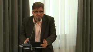 Witold Kołodziejski, Ogólnopolska konferencja naukowa: Nowy impuls rozwoju – ponowne wykorzystanie informacji sektora publicznego w administracji fot. ŚWIECZAK