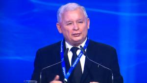 Jarosław Kaczyński Prezes PIS V Kongres Prawa i Sprawiedliwości fot. ŚWIECZAK