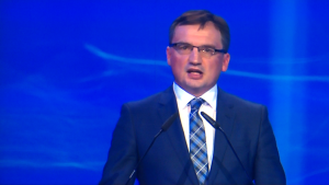 Zbigniew Ziobro V Kongres Prawa i Sprawiedliwości fot. ŚWIECZAK