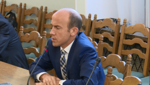 Borys Budka Prezes TK podsumował działalność Trybunału Konstytucyjnego w 2015 r. fot. ŚWIECZAK