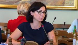 Kamila Gasiuk-Pihowicz  Prezes TK podsumował działalność Trybunału Konstytucyjnego w 2015 r. fot. ŚWIECZAK