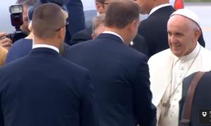 Papież Franciszek jest już w Polsce fot. ŚWIECZAK