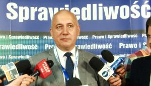 Joachim Brudziński wicemarszałek Sejmu VIII kadencji. V Kongres Prawa i Sprawiedliwości fot. ŚWIECZAK