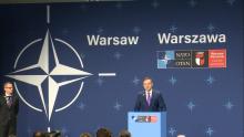 Prezydent Duda podsumował Szczyt NATO w Warszawie fot. ŚWIECZAK