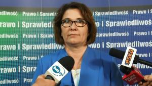 Beata Mazurek Rzecznik prasowy KP PiS V Kongres Prawa i Sprawiedliwości fot. ŚWIECZAK