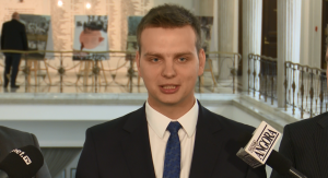 Jakub Kulesza Rzecznik prasowy Paweł Grabowski (Kukiz'15) oficjalnym kandydatem komisji śledczej w sprawie Amber Gold fot. ŚWIECZAK