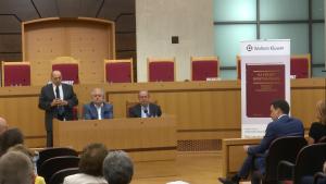 """Prezentacja księgi """"Na straży państwa prawa. Trzydzieści lat orzecznictwa Trybunału Konstytucyjnego"""" fot. ŚWIECZAK"""