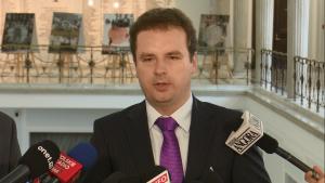 mecenas Jacek Wilk Paweł Grabowski (Kukiz'15) oficjalnym kandydatem komisji śledczej w sprawie Amber Gold fot. ŚWIECZAK