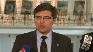 Tomasz Jaskóła Paweł Grabowski (Kukiz'15) oficjalnym kandydatem komisji śledczej w sprawie Amber Gold fot. ŚWIECZAK