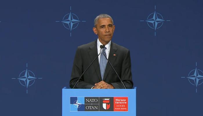 Barack Obama podsumował szczyt NATO fot. ŚWIECZAK