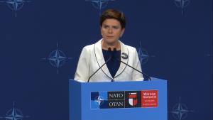 Premier Beata Szydło: szczyt NATO w Warszawie to wielki sukces Polski fot. ŚWIECZAK